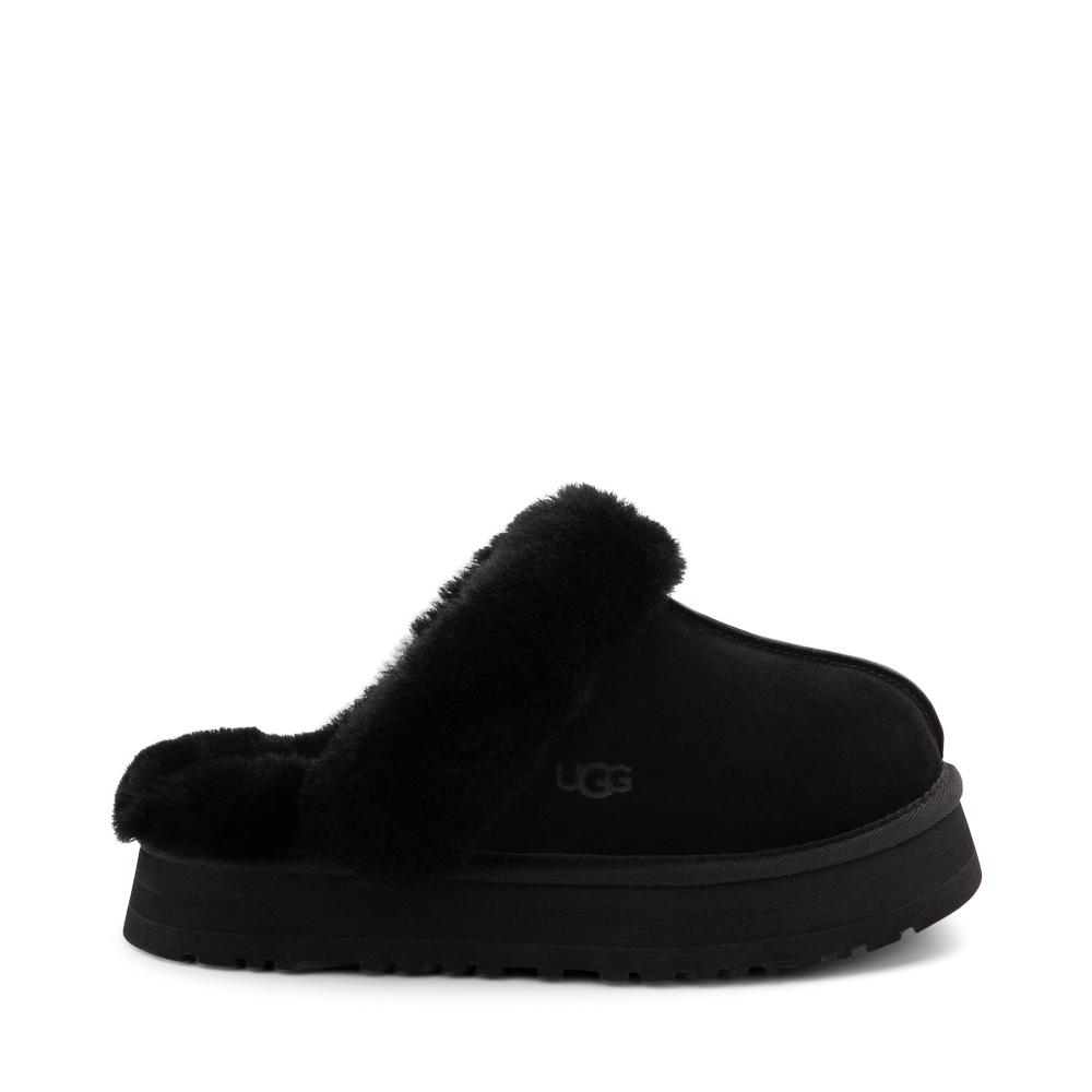 Womens UGG® Disquette Platform Clog - Black