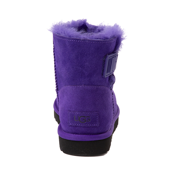 alternate view Womens UGG® Mini Bailey Logo Strap Boot - Violet NightALT4