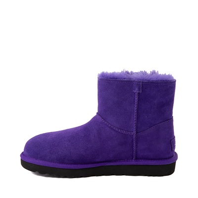 Alternate view of Womens UGG® Mini Bailey Logo Strap Boot - Violet Night