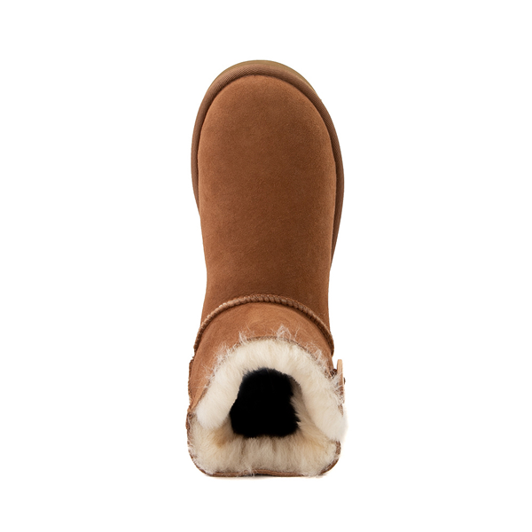 alternate view Womens UGG® Mini Bailey Button Boot - ChestnutALT2