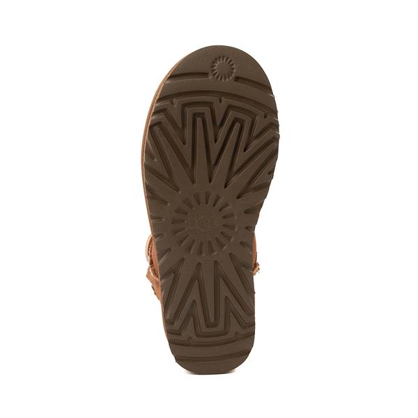 alternate view Womens UGG® Mini Bailey Button Boot - ChestnutALT3