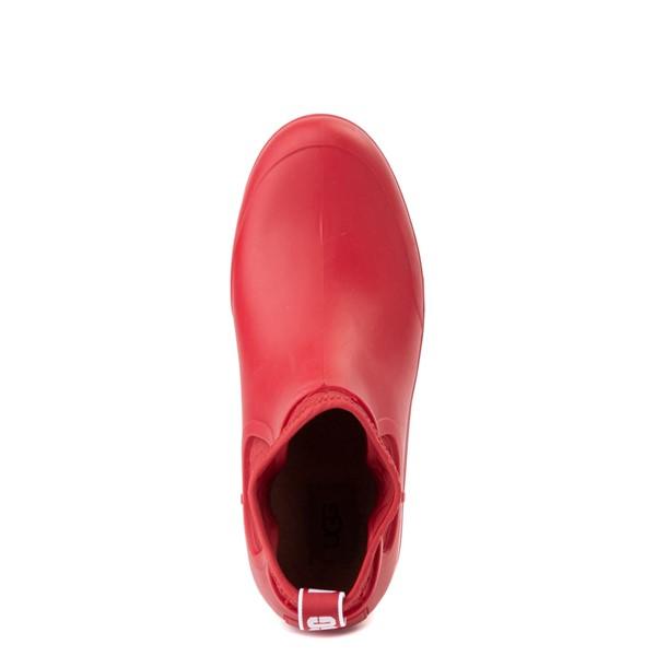 alternate view Womens UGG® Chevonne Chelsea Rain Boot - Ribbon RedALT2