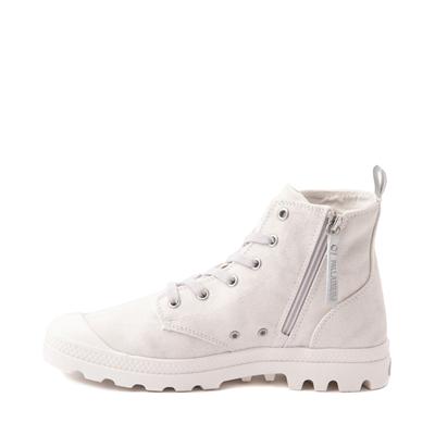 Alternate view of Womens Palladium Pampa Hi Zip Desertwash Star Boot - White