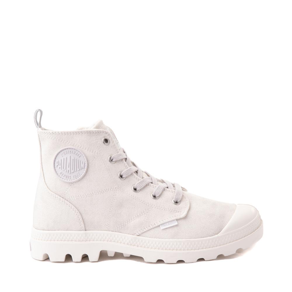 Womens Palladium Pampa Hi Zip Desertwash Star Boot - White