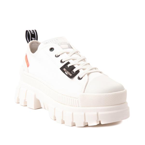 alternate view Womens Palladium Revolt Lo TX Star Sneaker - WhiteALT5