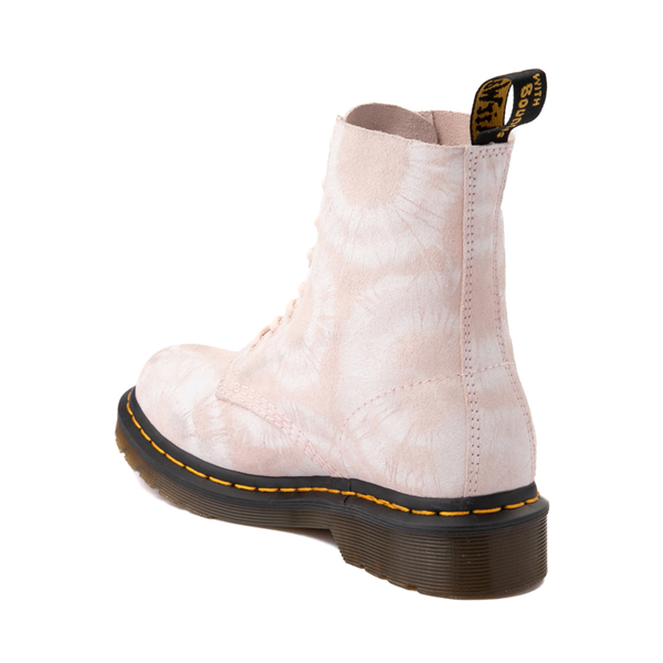 alternate view Womens Dr. Martens 1460 Pascal 8-Eye Boot - Pink Tie DyeALT1