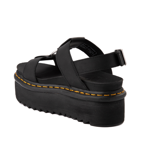 alternate view Womens Dr. Martens Francis Platform Sandal - BlackALT1