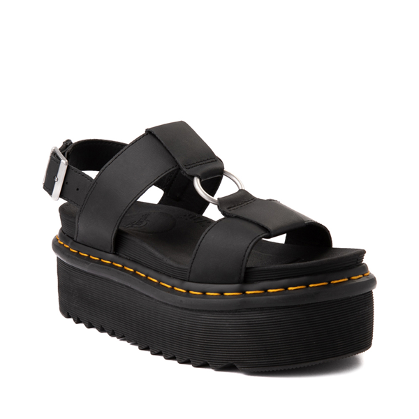 alternate view Womens Dr. Martens Francis Platform Sandal - BlackALT5