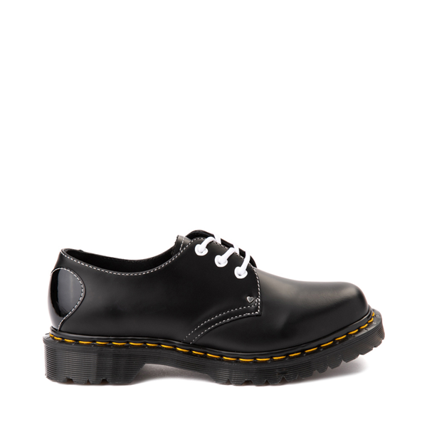 Main view of Womens Dr. Martens 1461 Hearts Casual Shoe - Black