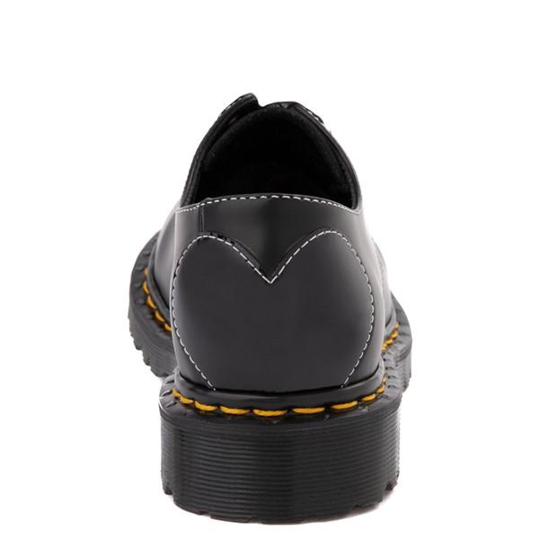 alternate view Womens Dr. Martens 1461 Hearts Casual Shoe - BlackALT2B