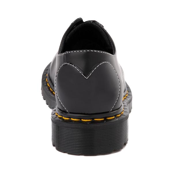 alternate view Womens Dr. Martens 1461 Hearts Casual Shoe - BlackALT4