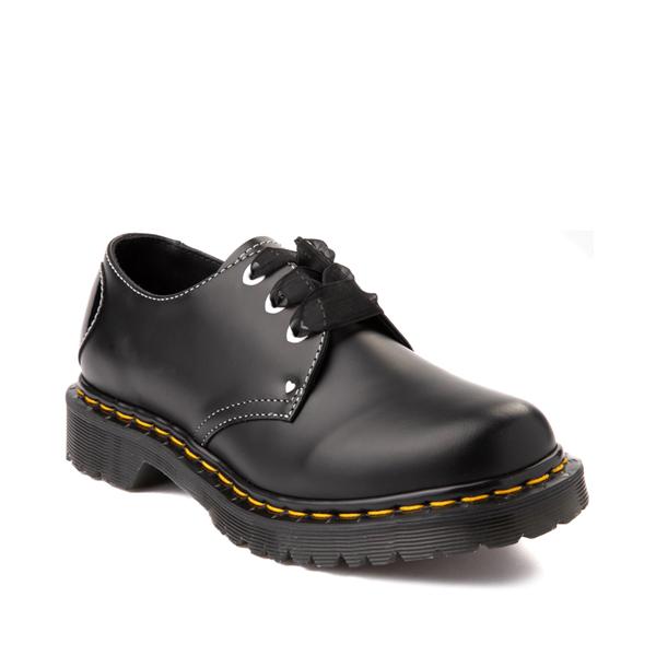 alternate view Womens Dr. Martens 1461 Hearts Casual Shoe - BlackALT5