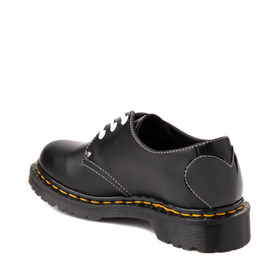 Alternate view of Womens Dr. Martens 1461 Hearts Casual Shoe - Black