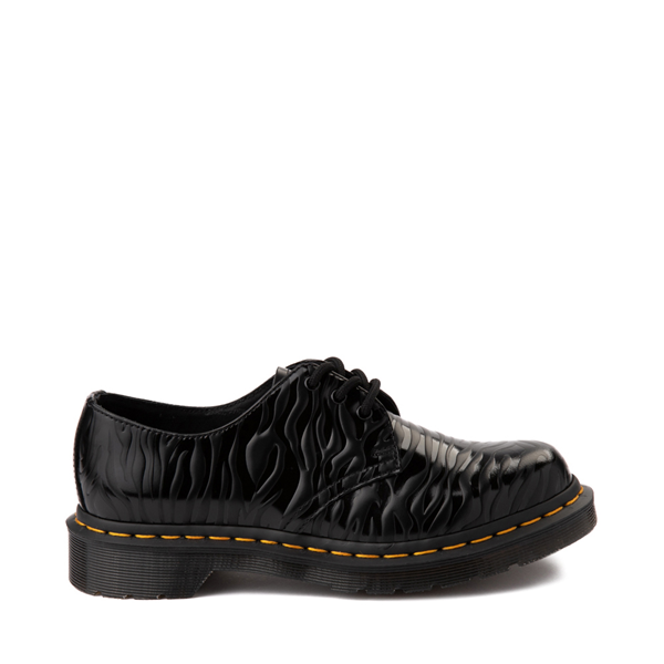 Main view of Dr. Martens 1461 Zebra Casual Shoe - Black