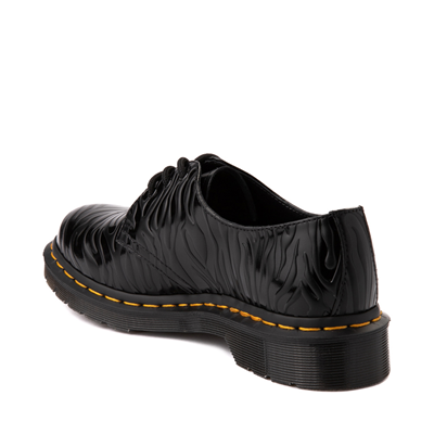 Alternate view of Dr. Martens 1461 Zebra Casual Shoe - Black