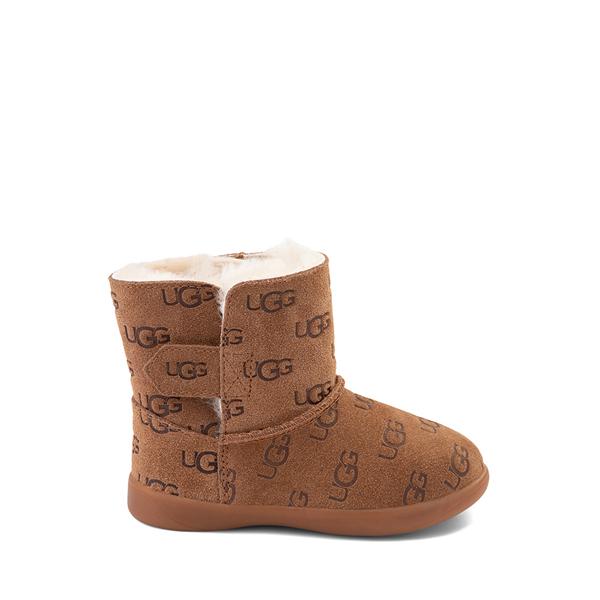 Main view of UGG® Keelan Embossed Boot - Toddler / Little Kid - Chestnut