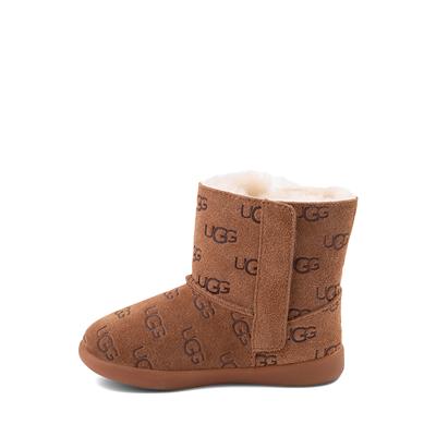 Alternate view of UGG® Keelan Embossed Boot - Toddler / Little Kid - Chestnut