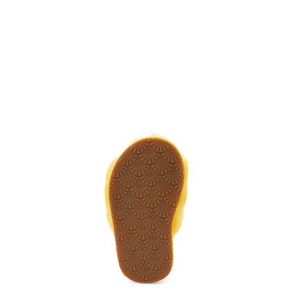 alternate view UGG® Fluff Yeah Slide Sandal - Toddler / Little Kid - LemonALT3