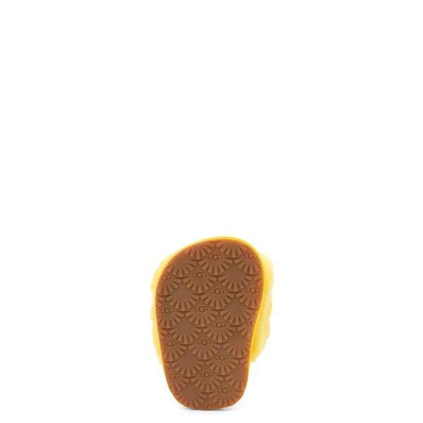 alternate view UGG® Fluff Yeah Slide Sandal - Baby / Toddler - LemonALT3