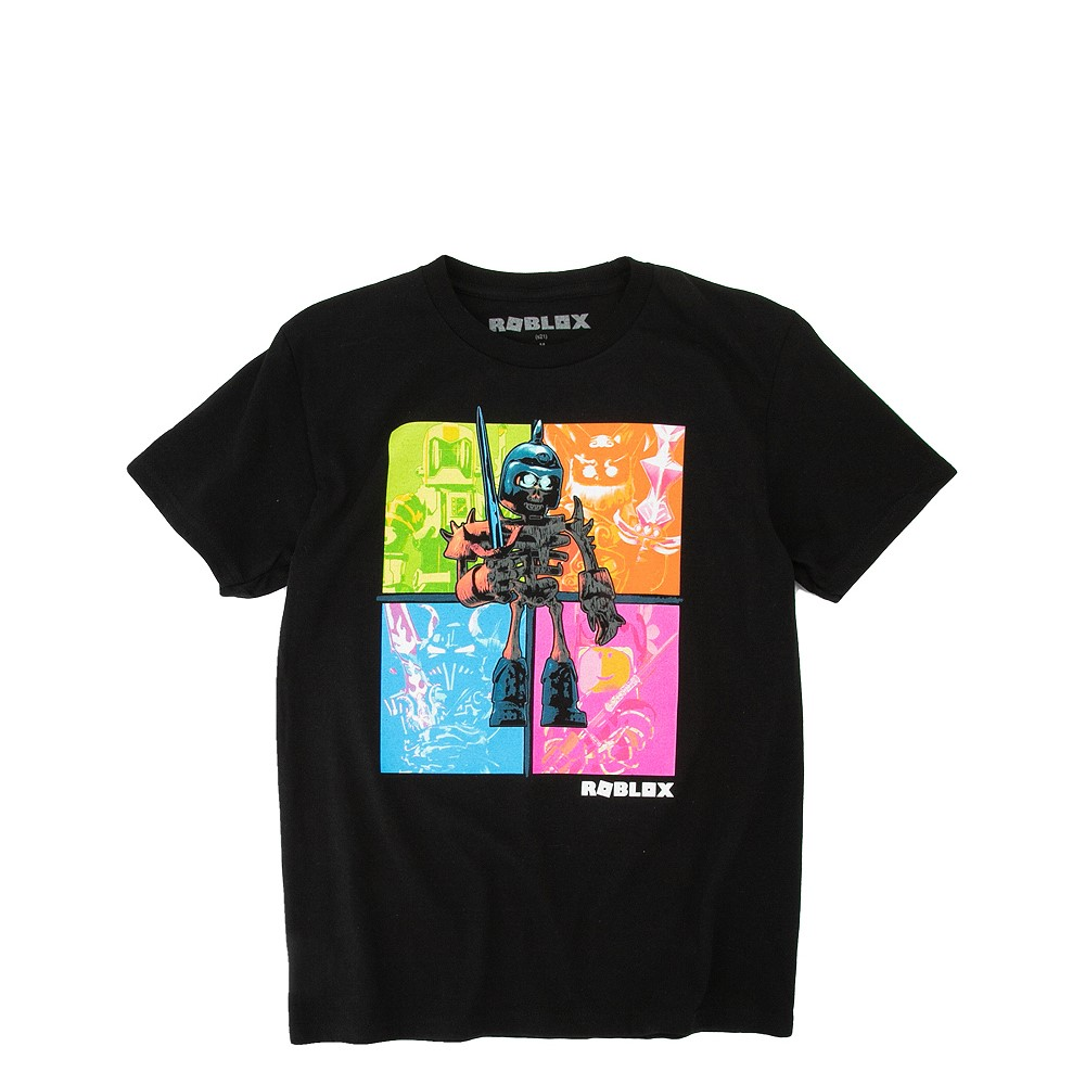 Roblox Neon Tee - Little Kid / Big Kid - Black