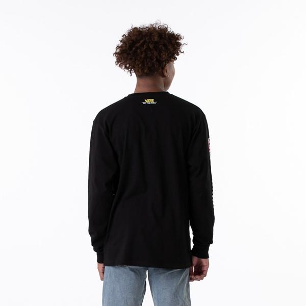 alternate view Mens Vans x SpongeBob Squarepants™ Long Sleeve Tee - BlackALT1