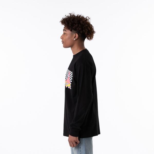 alternate view Mens Vans x SpongeBob Squarepants™ Long Sleeve Tee - BlackALT3