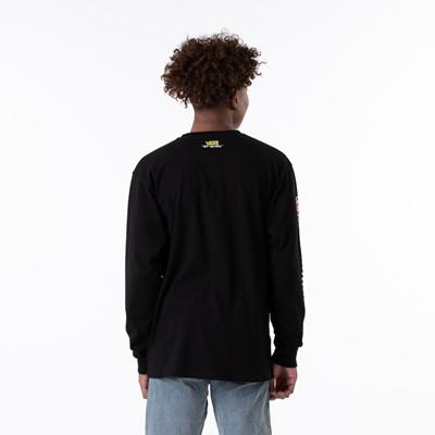Alternate view of Mens Vans x SpongeBob Squarepants™ Long Sleeve Tee - Black
