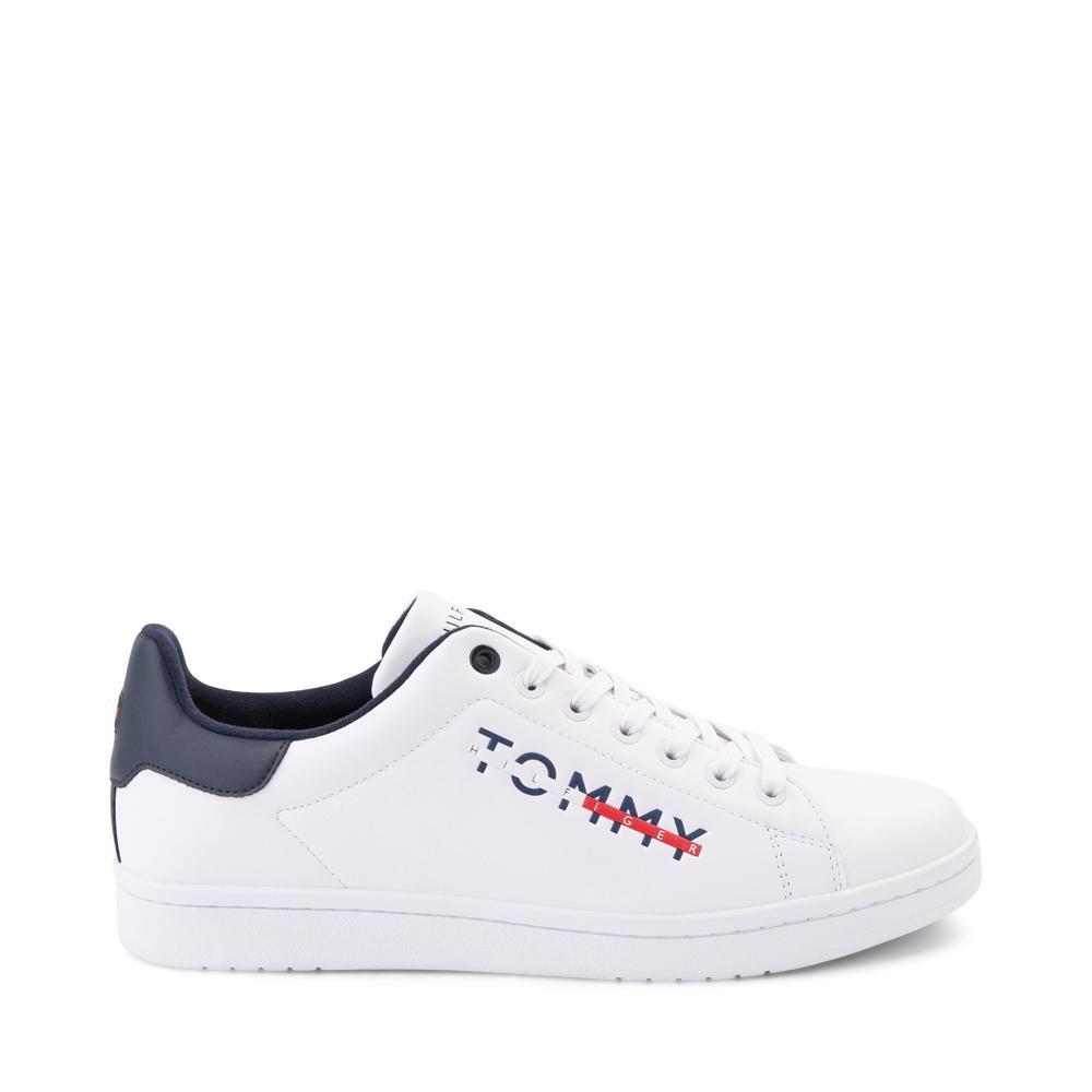 Mens Tommy Hilfiger Ledger Casual Shoe - White