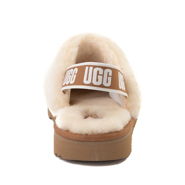 alternate view UGG® Fluff Yeah Clog - Little Kid / Big Kid - NaturalALT4