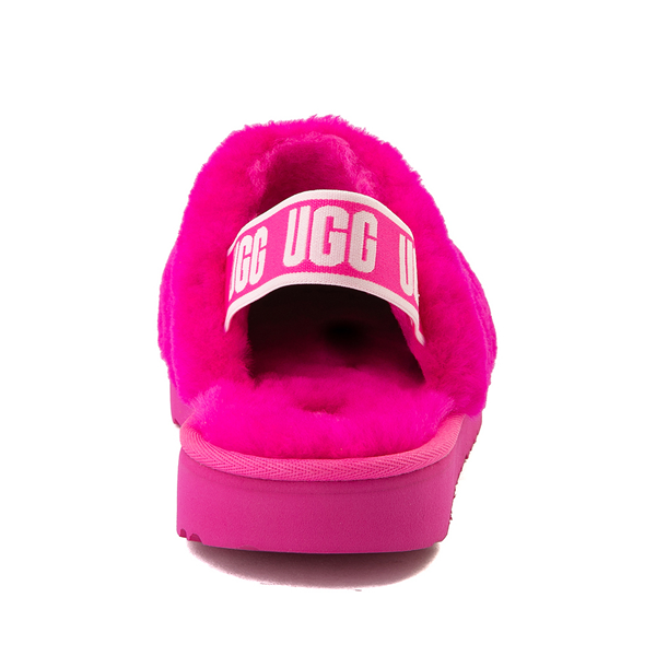 alternate view UGG® Fluff Yeah Clog - Little Kid / Big Kid - Rock RoseALT4