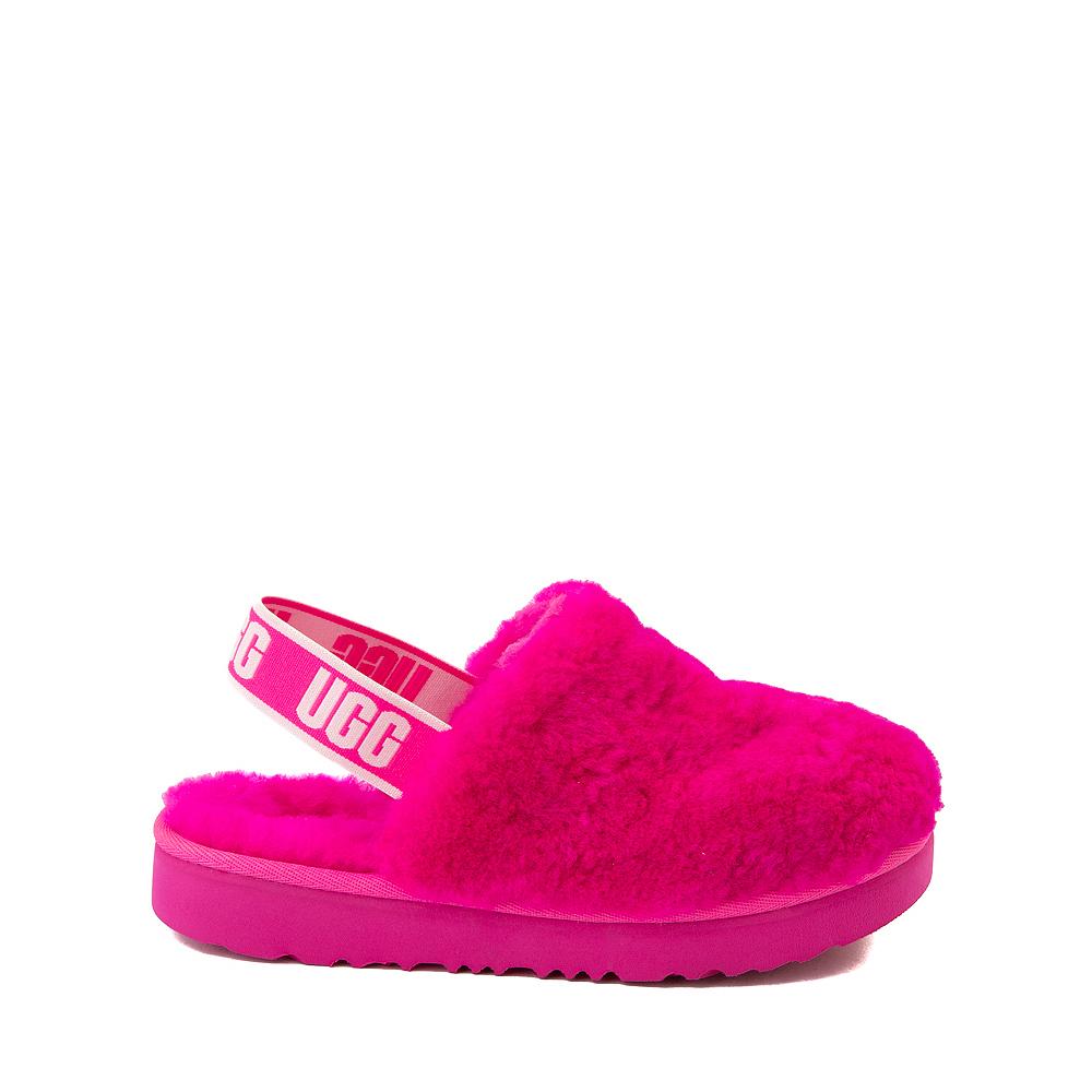 UGG® Fluff Yeah Clog - Little Kid / Big Kid - Rock Rose