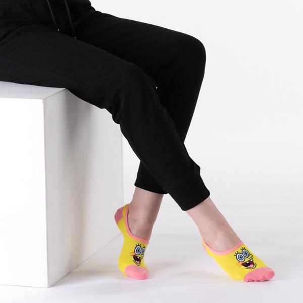 alternate view Womens Vans x SpongeBob Squarepants™ Canoodle Liners 3 Pack - MulticolorALT2