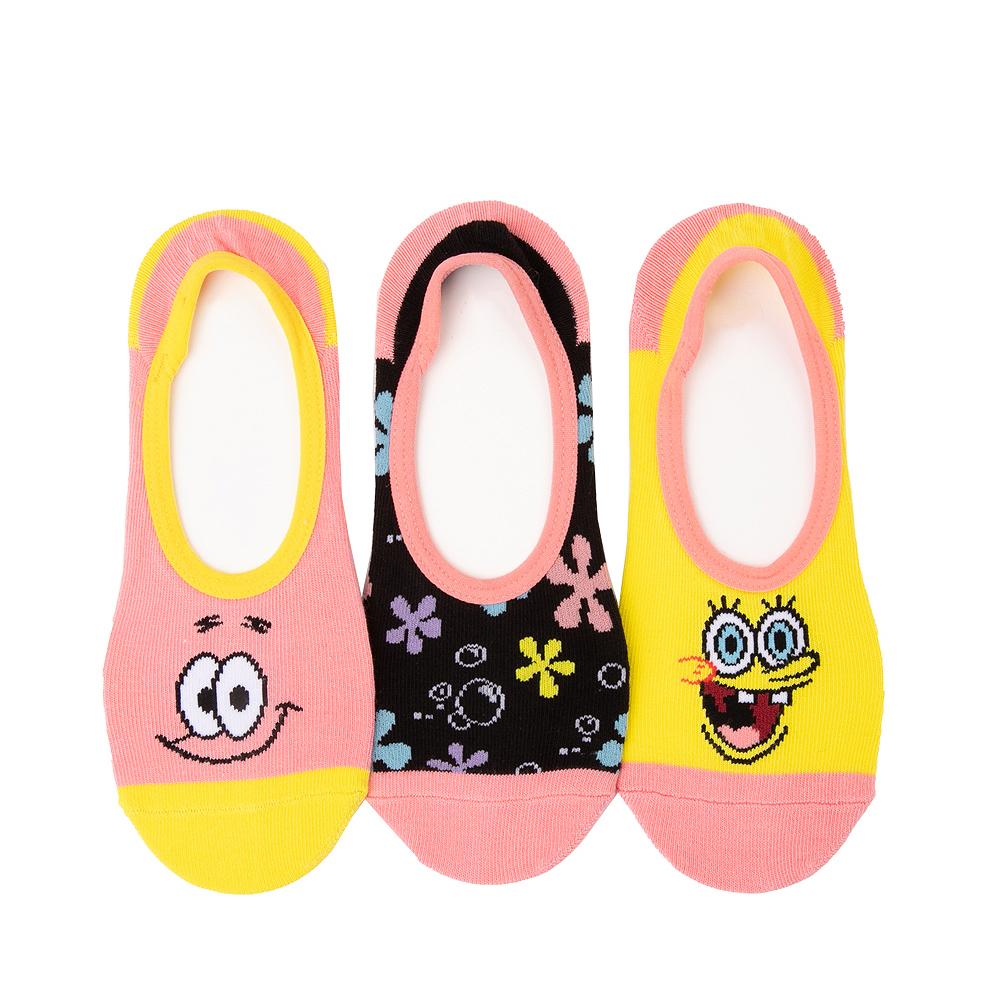 Womens Vans x SpongeBob Squarepants™ Canoodle Liners 3 Pack - Multicolor
