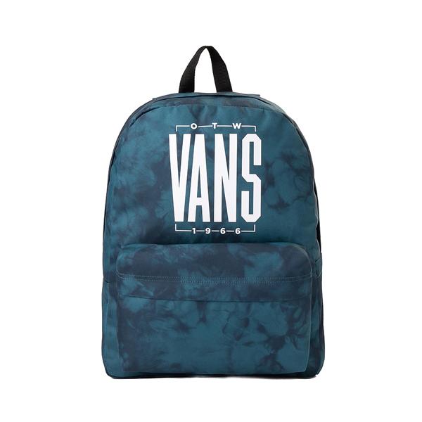Main view of Vans Old Skool Tie Dye Backpack - Blue Coral