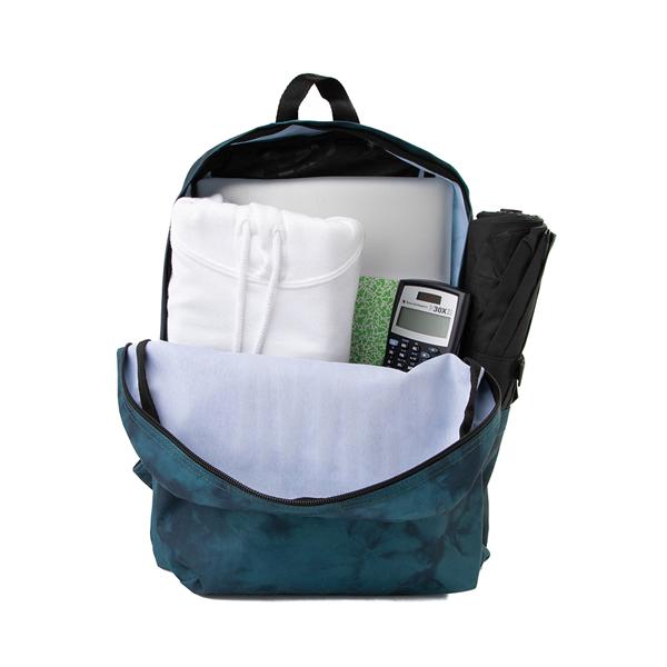 alternate view Vans Old Skool Tie Dye Backpack - Blue CoralALT1