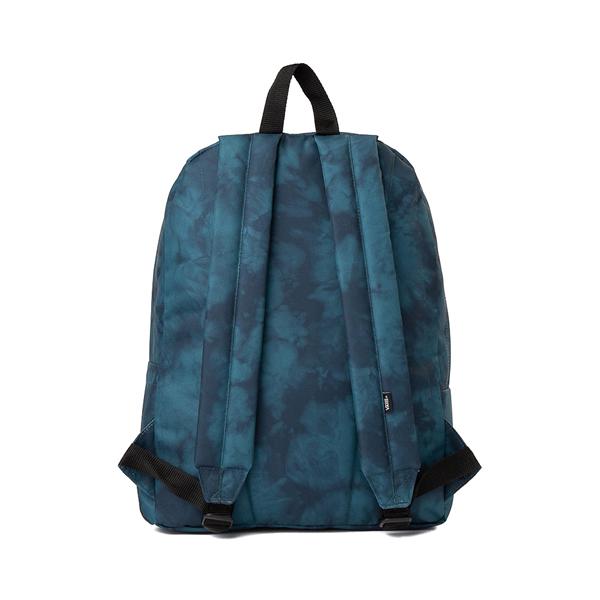 alternate view Vans Old Skool Tie Dye Backpack - Blue CoralALT2