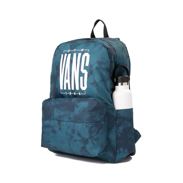 alternate view Vans Old Skool Tie Dye Backpack - Blue CoralALT4