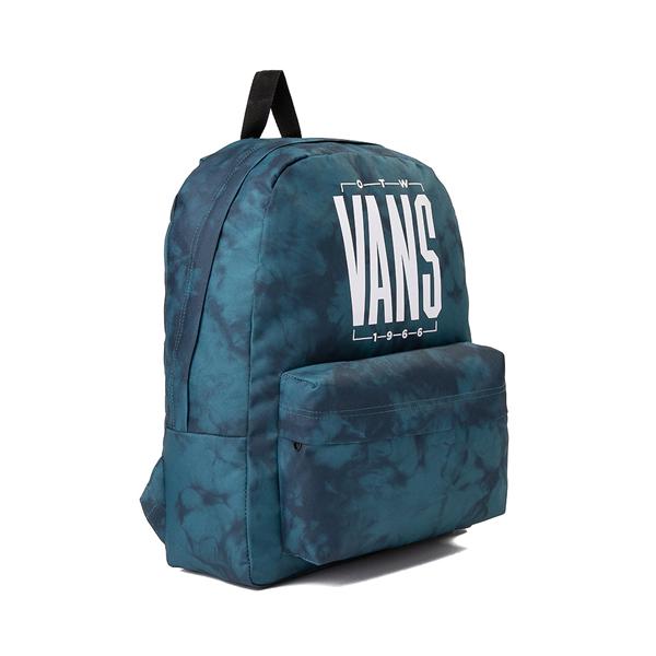 alternate view Vans Old Skool Tie Dye Backpack - Blue CoralALT4B
