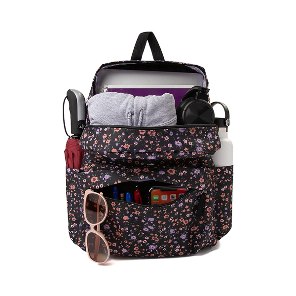 alternate view Vans Old Skool H2O Backpack - Black / Covered Ditsy FloralALT1
