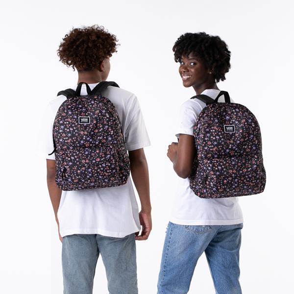 alternate view Vans Old Skool H2O Backpack - Black / Covered Ditsy FloralALT1BADULT