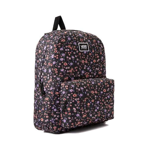 alternate view Vans Old Skool H2O Backpack - Black / Covered Ditsy FloralALT4B