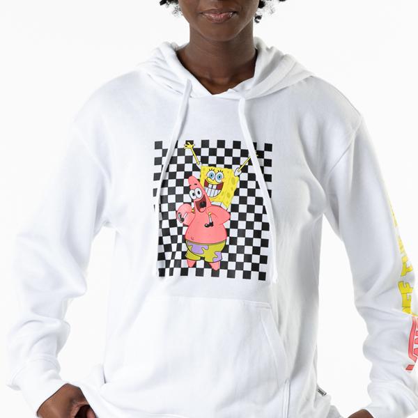 Womens Vans x Spongebob Squarepants™ Best Buddies Hoodie - White