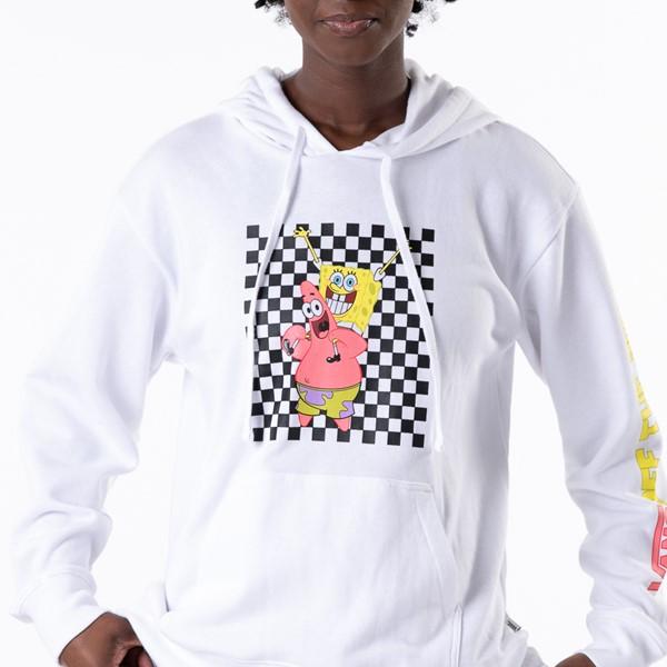 alternate view Womens Vans x Spongebob Squarepants™ Best Buddies Hoodie - WhiteALT1C