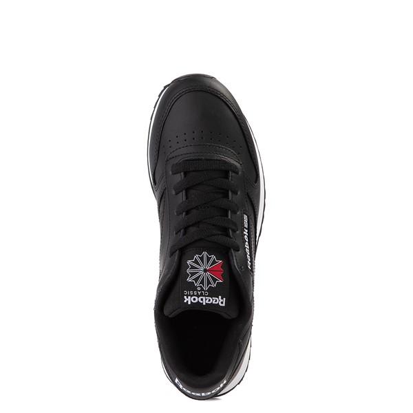 alternate view Womens Reebok Classic Leather Ripple Athletic Shoe - BlackALT2