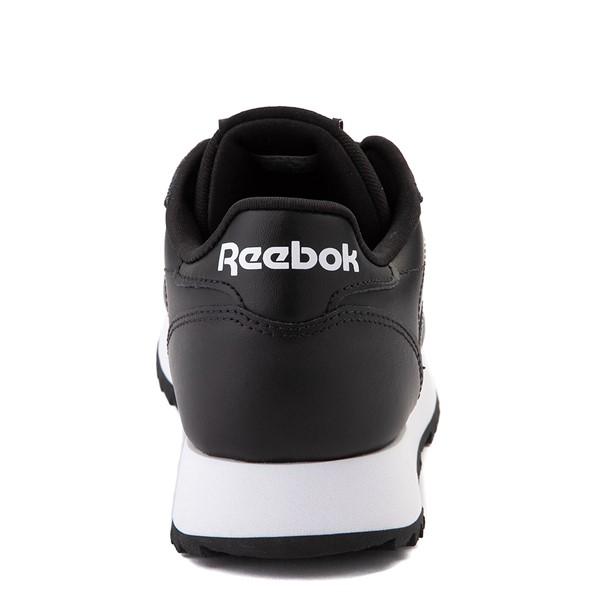 alternate view Womens Reebok Classic Leather Ripple Athletic Shoe - BlackALT4