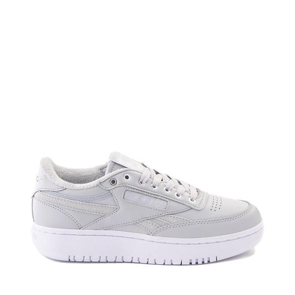 Womens Reebok Club C Double Athletic Shoe - Gray