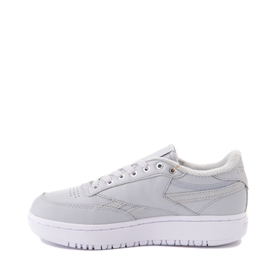 Alternate view of Womens Reebok Club C Double Athletic Shoe - Gray