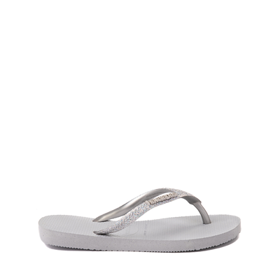 Alternate view of Havaianas Slim Glitter Sandal - Toddler / Little Kid - Gray