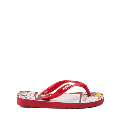 Alternate view of Havaianas Marvel Iron Man Top Sandal - Toddler / Little Kid - Red
