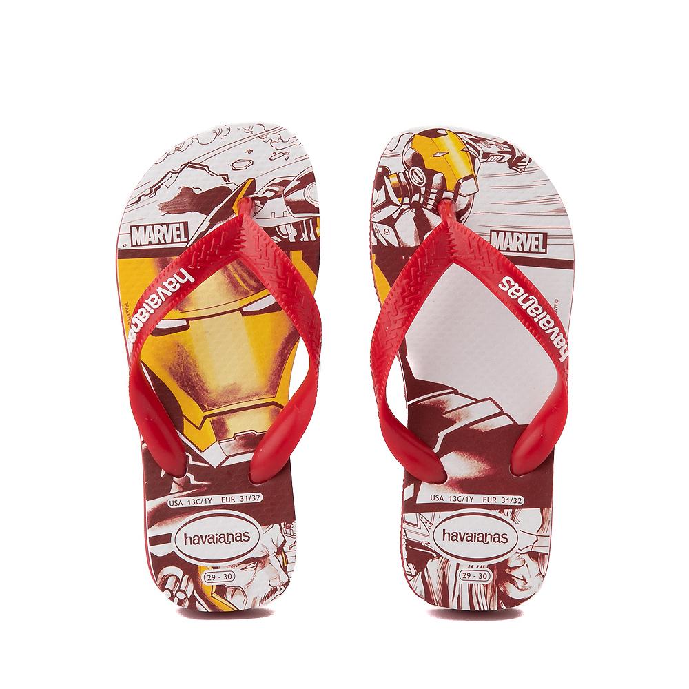 Havaianas Marvel Iron Man Top Sandal - Toddler / Little Kid - Red